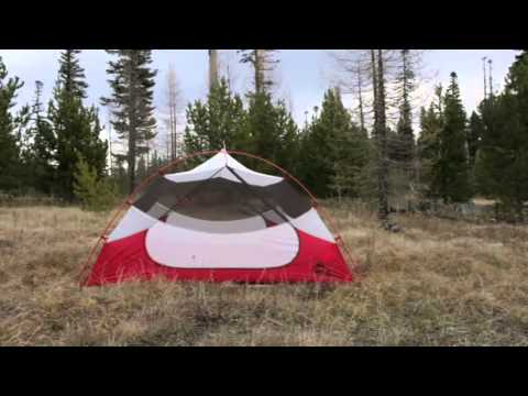 MSR Mutha Hubba NX 3 Person 3 Season C&ing Tent & MSR Mutha Hubba NX 3 Person 3 Season Camping Tent - YouTube