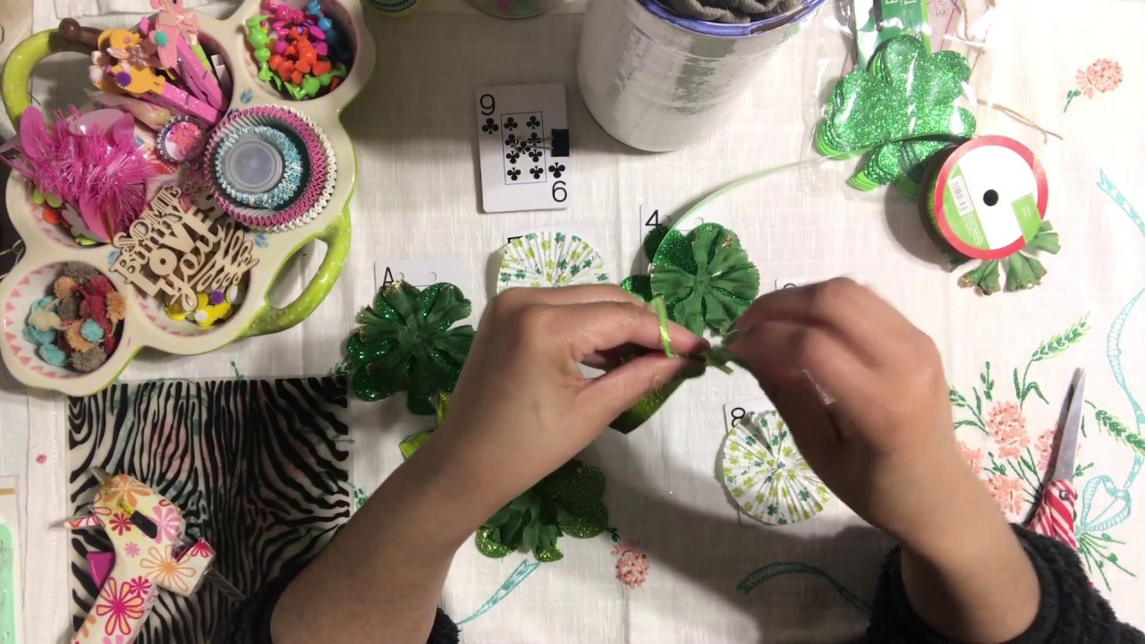 St Patrick S Day Last Minute Crafty Ideas Diy Garland Using