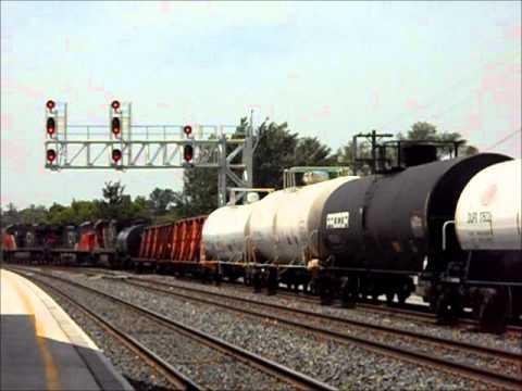 Belleville, Ontario Canada - VIA Rail/Canadian National - May 25-27, 2012
