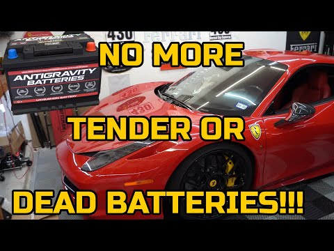 Antigravity Lithium Ion Battery – FERRARI 458 INSTALLATION
