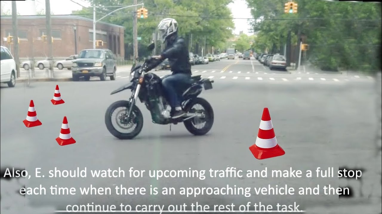 Motorcycle Road Test New York Red Hook Area Succesfull
