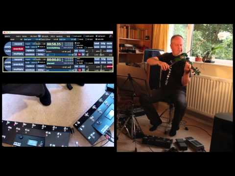 Live-looped Norwegian folk tune (using Gordius and Sooperlooper)