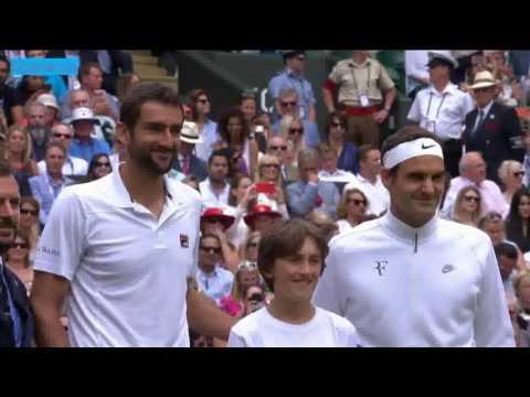 Roger Federer vs Marin Cilic Full Match Wimbledon 2017 Final HD