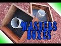 Washers Game Boxes and Rules