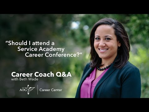 Should I attend a Service Academy Career Conference?