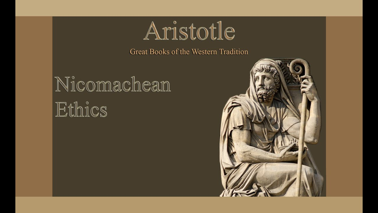 an explanation of the nicomachean ethics by aristotle The nicomachean ethics (/ ˌ n ɪ k oʊ ˈ m æ k i ə n / ancient greek: ἠθικὰ νικομάχεια) is the name normally given to aristotle's best-known.