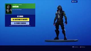 New skin revesing new red iron pick on fortnite