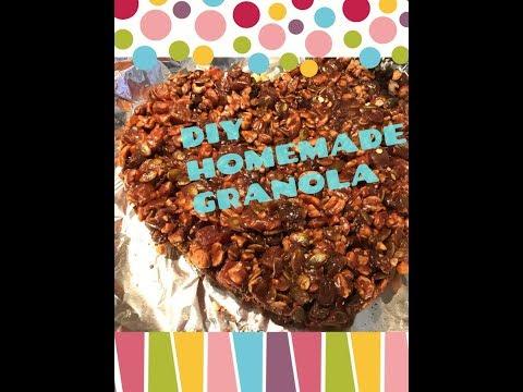 diy-homemade-granola-heart-chocolate-diy-||for-keto-use-dark-chocolate-||