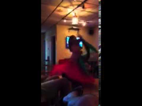 Kelly Creagh Belly Dancing At Casablanca Hookah Lounge