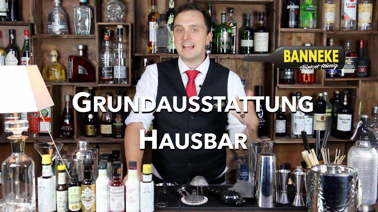 Grundausstattung Fur Die Hausbar Schuttelschule By Banneke