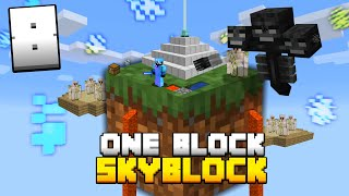 Minecraft Skyblock, But You Only Get ONE BLOCK (#8)