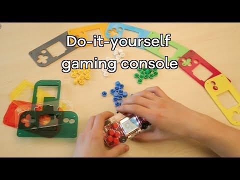 DIY retro games console teaches kids about electronics - BBC Click