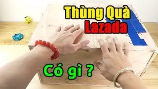 Bất ngờ nhận được thùng quà TO ĐÙNG từ Lazada