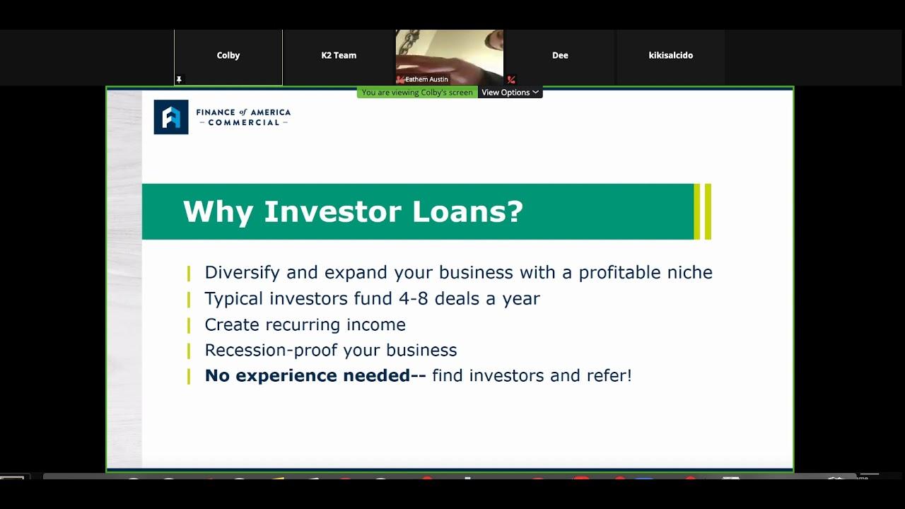Finance Of America Commercial Loan Program Update Youtube