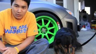 tire letter install   subaru wrx hatchback