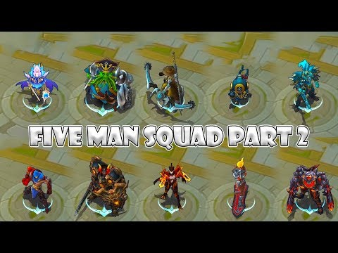 Mobile Legends 5 Man Squad Part 2