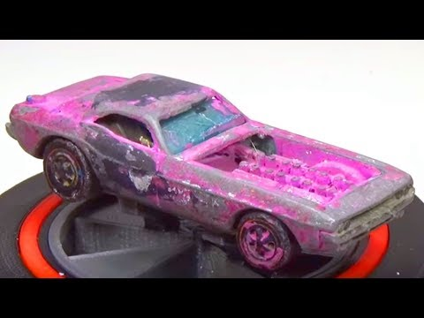 Watch This Guy Restore A Really Old Hot Wheels Car