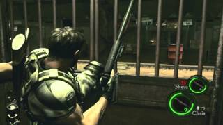 Resident Evil 5 Stupid(8): LOOK AT MAI MUSCLES!