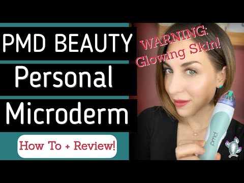 PMD Beauty Personal Microderm: Honest  Review and Tutorial for Glowing Skin!