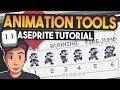 Aseprite Animation Timeline & tools (Pix