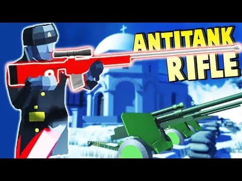 For MOTHER RUSSIA!  Secret ANTI TANK OP Rifle (Ravenfield New Beta Gameplay)