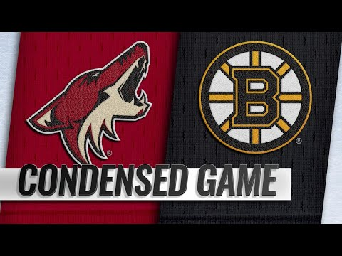 12/11/18 Condensed Game: Coyotes @ Bruins