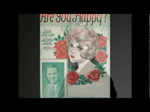 Gene Austin - Are You Happy? (1927)