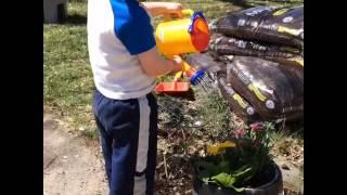 Spielstabil Rake  Shovel and Watering Can