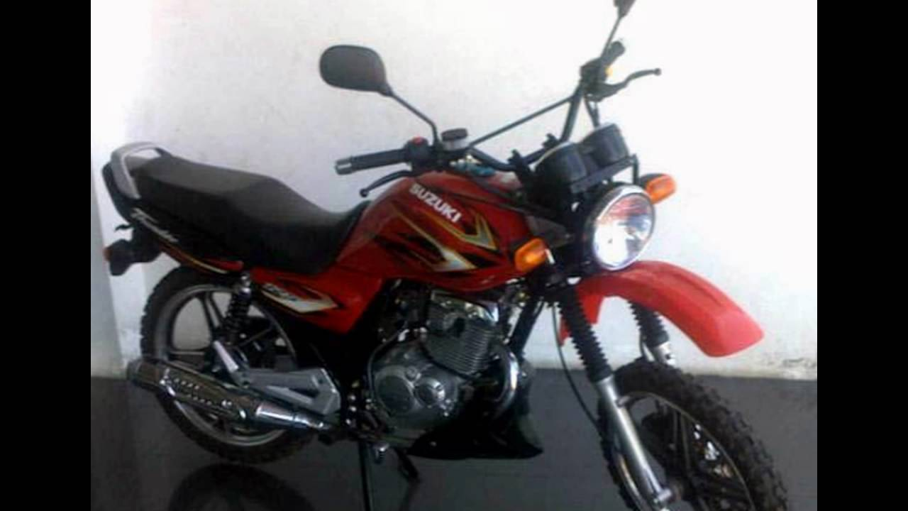 Video Motor Suzuki Thunder 125 Tahun 2008 Modif Trail Body Klx YouTube
