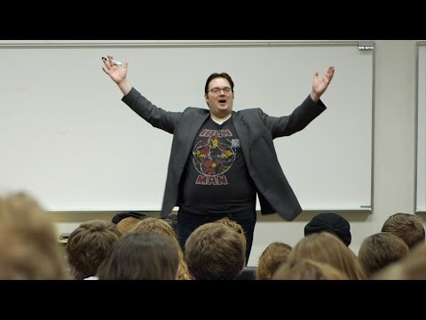 Brandon Sanderson - 318R - #1 (Course Overview)