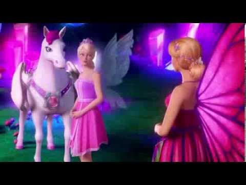 Barbie -  Mariposa &  the Fairy Princess -  Be A Friend - Music Video