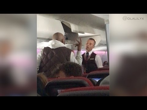 PLANE FIGHT, EMERGENCY LANDING AND MAN ARRESTED – Virgin Atlantic Flight