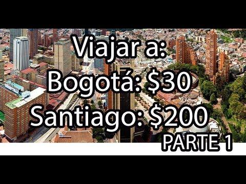Parte 1 - Como viajar o migrar a Chile con 200$ | Caracas hasta Bogota con 30$