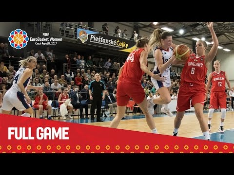 Slovak Republic v Hungary - Full Game - Qualifier - EuroBasket Women 2017