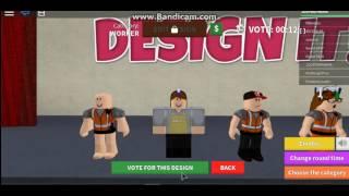 Design It! ROBLOX #1 -ik ben zo fancy :3)
