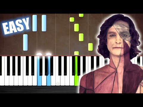 Gotye - Somebody That I Used To Know - EASY Piano Tutorial by PlutaX