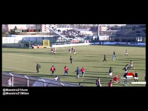 Highlights Pro Patria vs AC Milan 03012013
