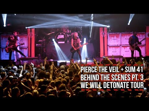 Pierce the Veil + Sum 41 Wrap Up 'We Will Detonate' Tour: Behind the Scenes Part 3