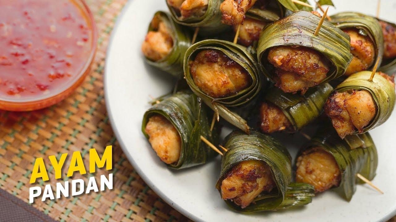 Resepi Ayam Pandan Thai Thai Pandan Chicken Recipe Seismik Makan Youtube