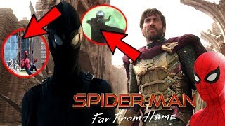 Spider-Man Far From Home OFFICIAL Trailer Breakdown! & Avengers 4 Endgame EASTER EGGS!