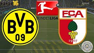 Fifa 16 - borussia dortmund gegen fc augsburg (11.spieltag) ◄bvb #24►