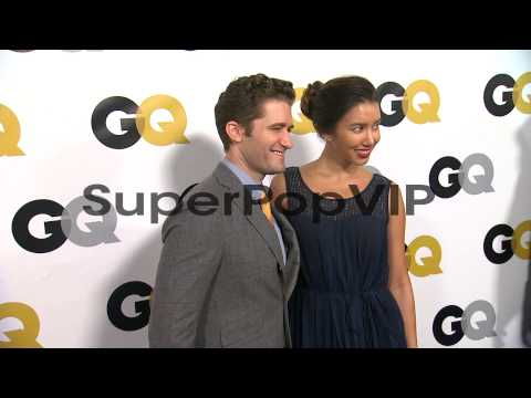 Matthew Morrison and Renee Puente at GQ Men Of The Year P...