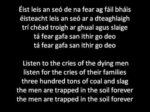 Springhill Mining Disaster- Irish