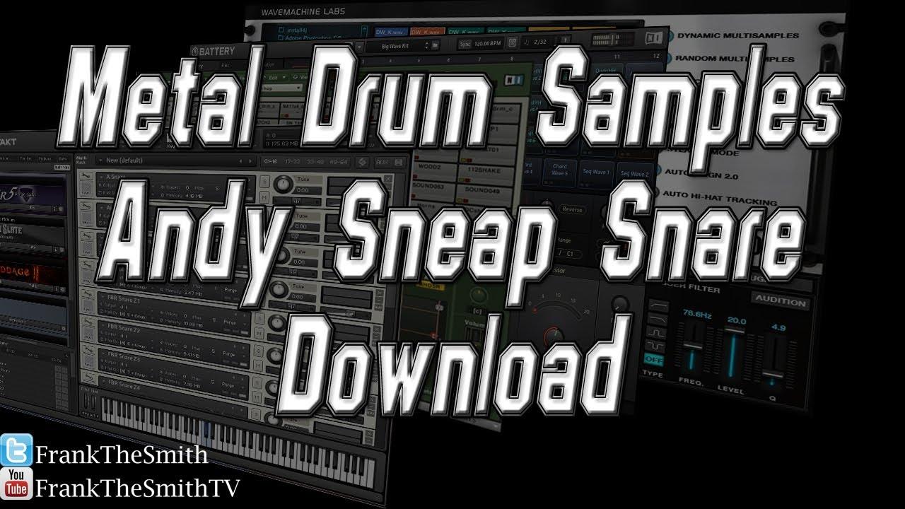 Drum samples.