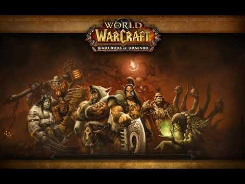 World of Warcraft механогном разрушает темный портал в дреноре новом и  делает себе гарнизон