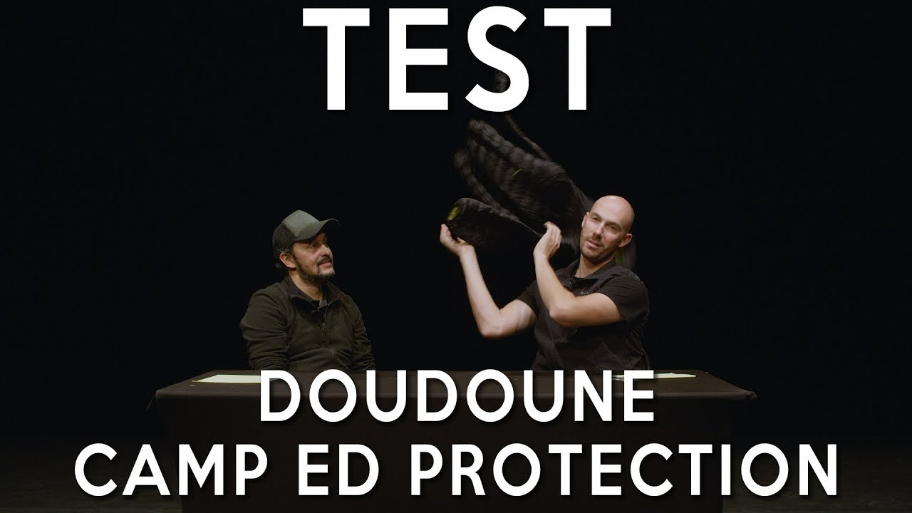 Test Jacket Camp Protection Ed Doudoune Youtube qz1qn68w