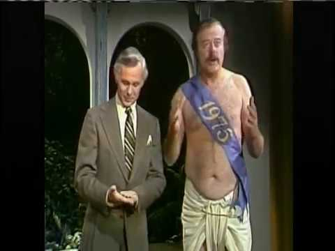 Johnny Carson chats with Baby New Year  1975