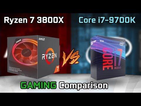Ryzen 7 3800x Vs Core I7 9700k Benchmark Leaks Youtube
