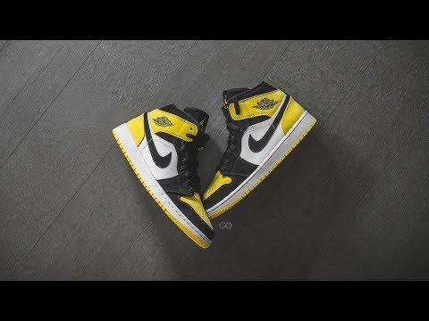 "air-jordan-1-mid-se-""yellow-toe"":-review-&-on-feet"