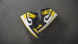 Air Jordan 1 Mid SE 'Yellow Toe'